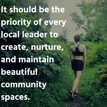 There is no one unconnected when living in a community. The healthy community demands that we ensure the well-being of all that live within it; when that is the goal, we thrive. (40)
